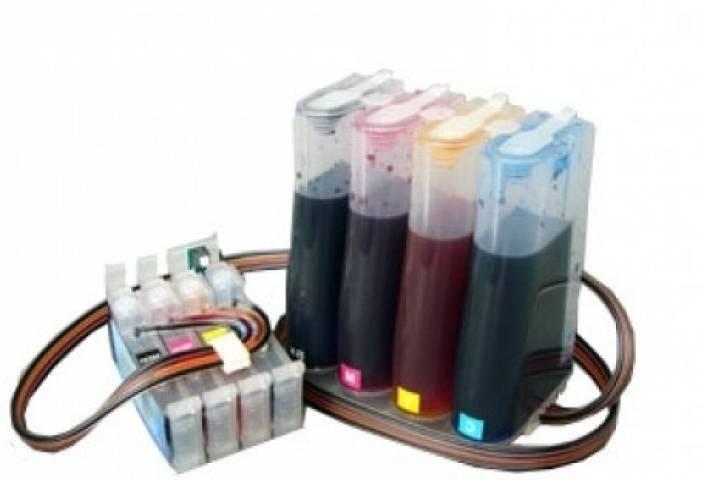 Flowjet Epson CISS for Tx121, T13, T10, Tx300f Multi Color Ink
