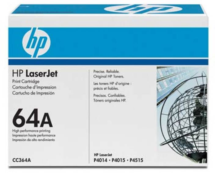 HP 64A Black LaserJet Toner Cartridge