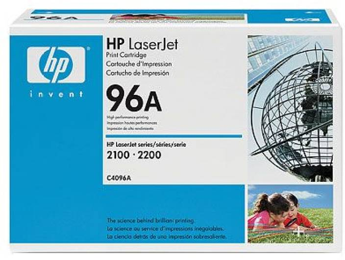 HP 96A Black LaserJet Toner Cartridge