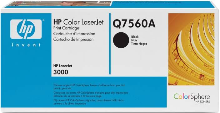 HP Color LaserJet Q7560A Black Print Cartridge