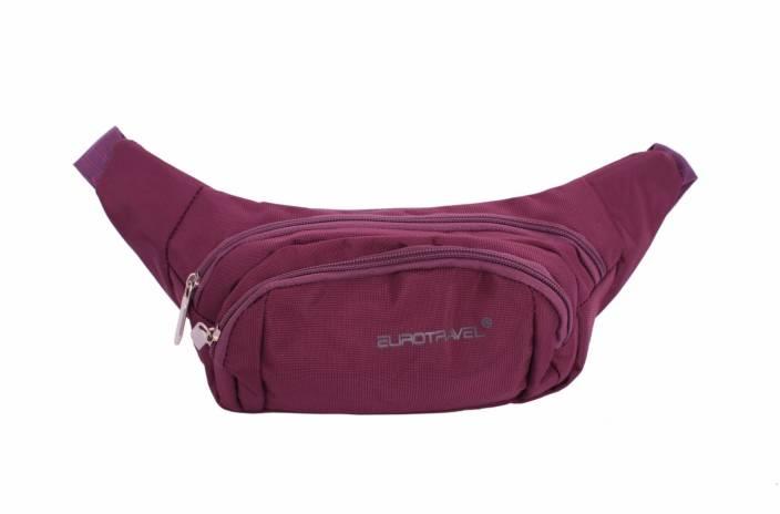 Sri Polyester Designer Waist Pouch For Men Women Wine Bag