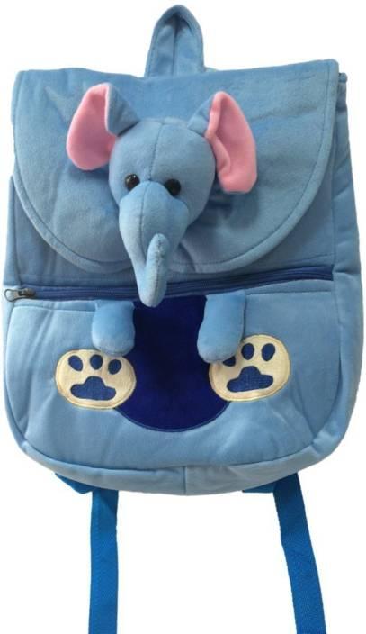 Shrih Elephant Soft Toy Backpack School Bag