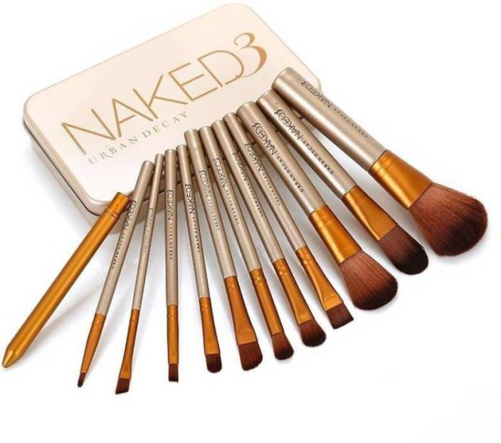 full makeup brush set. smart urban decay naked3 makeup brush set full