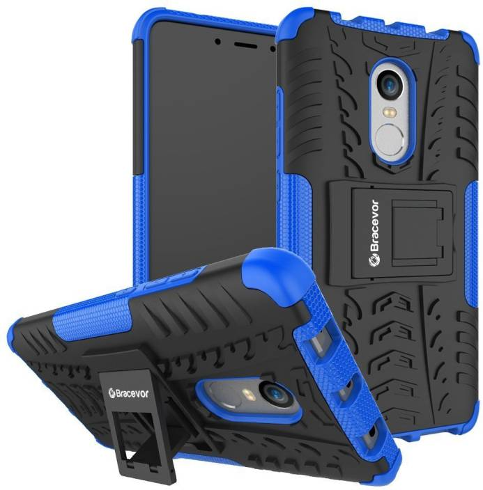 new product 601b2 f62bc Bracevor Back Cover for Mi Redmi Note 4