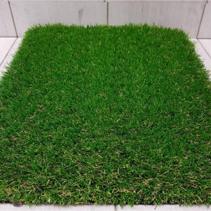 Verona PVC Door Mat Artificial grass green door rug (2*3 Feet)
