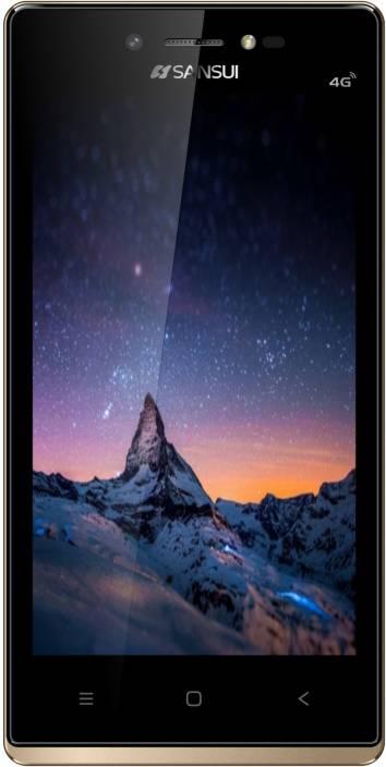 Sansui Horizon 1 (Black/Golden, 8 GB) 4G-VoLTE