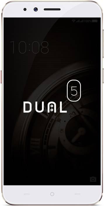 Micromax Dual 5 (Champagne, 128 GB)