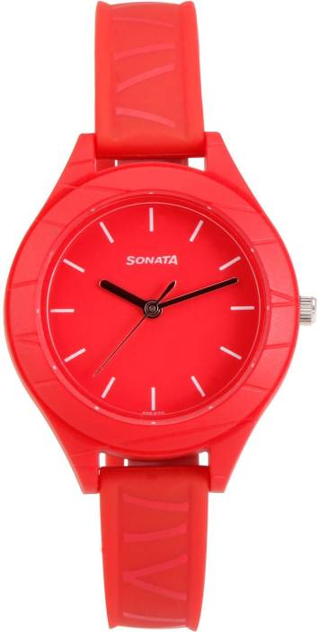 Sonata 87023PP01 Watch  - For Women