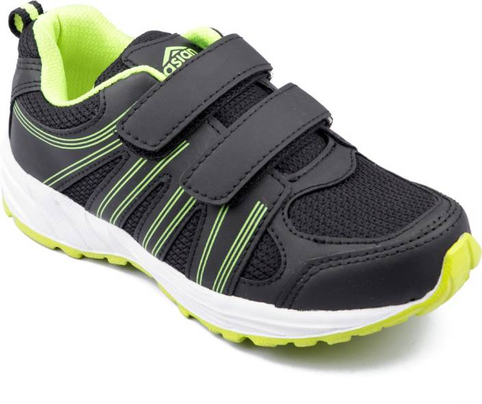 6365c0126 Asian Boys Velcro Running Shoes Price in India - Buy Asian Boys ...