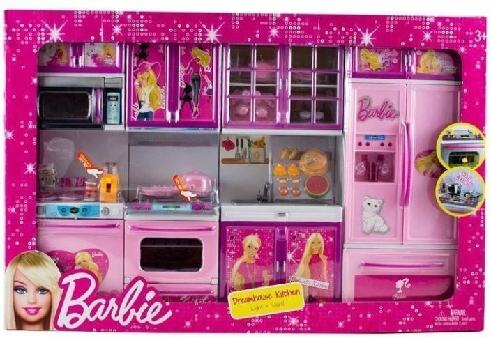 WE BLINK Barbie Kitchen Set