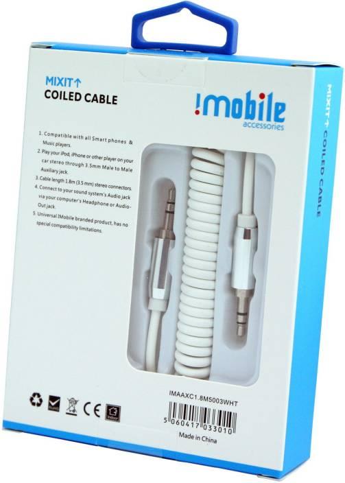 IMobile 3.5 mm Car Stereo Audio Cable - IMobile : Flipkart.com