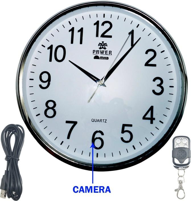 MMHB FULL HD 19201080 Quality Wall Clock Hidden Spy Camera