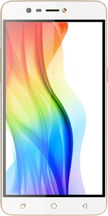Coolpad Mega 3 (Champagne and White, 16 GB)