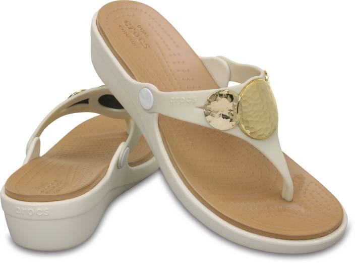 9af70cc8071 Crocs Women Off white Flats - Buy 204009-13S Color Crocs Women Off white  Flats Online at Best Price - Shop Online for Footwears in India    Flipkart.com