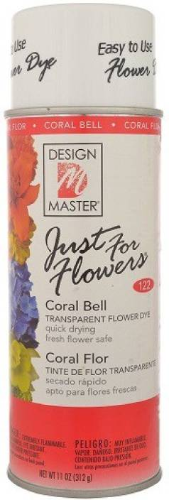 Design Master Oasis Just For Flowers Coaral Bell Spray Paint 312 Ml