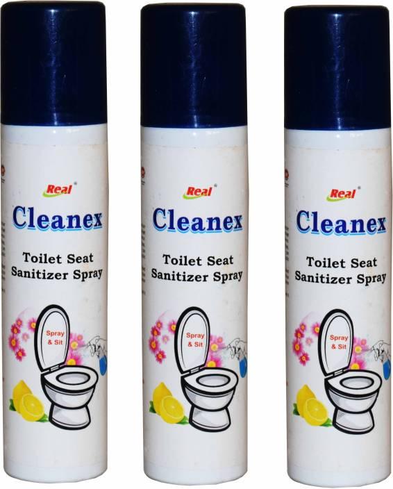 Real Seat Sanitizer & Lemon Liquid Toilet Cleaner