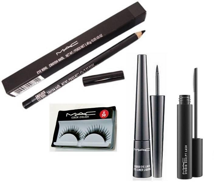 Becks newspaper bouquet  Imported Mac Eyeliner,Mascara,Pencil kajal,Eyelashes Price in ...