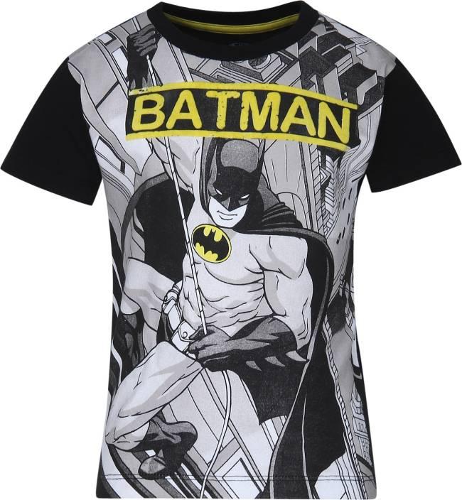 bd90583315 Batman Boys Printed Cotton T Shirt Price in India - Buy Batman Boys ...