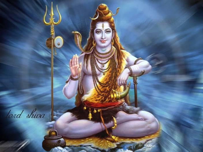 S Lord Shiva On Fine Art Paper Hd Quality Wallpaper Poster Fine Art Print 19 Inch X 13 Inch Rolled