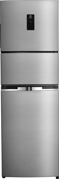 electrolux fridge. electrolux 370 l frost free triple door refrigerator fridge o