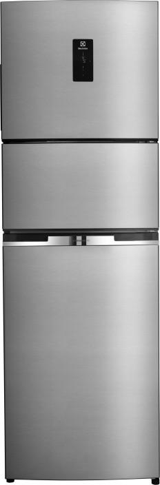 electrolux 370 l frost free triple door