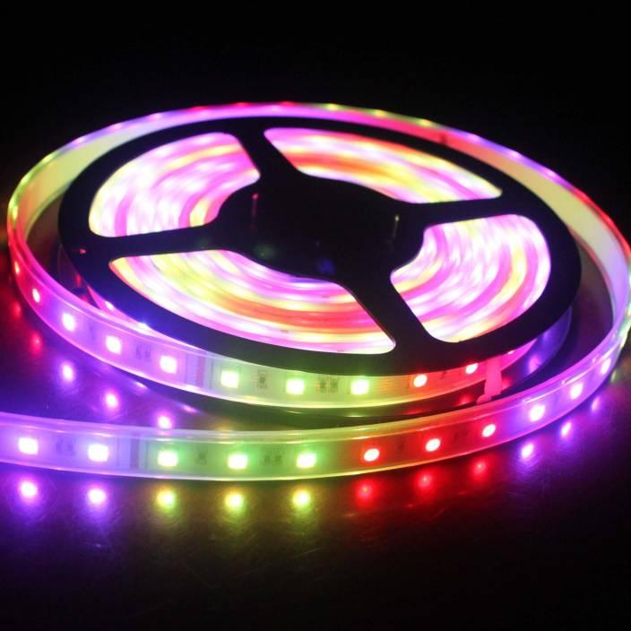 V-Light 196.85 inch Multicolor Rice Lights