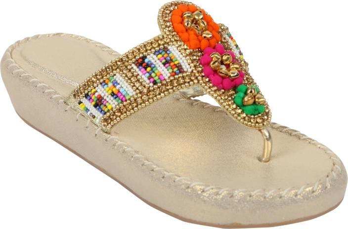 6c4b931fd fiddaa Women Rajasthani hues Heels - Buy fiddaa Women Rajasthani hues Heels  Online at Best Price - Shop Online for Footwears in India