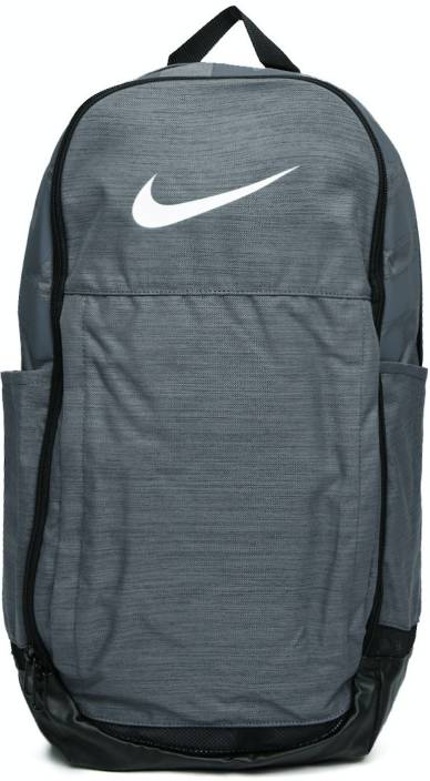 Nike Brasilia XL Training 33 L Laptop Backpack Grey - Price in India ... 5ebe335e9c1c5