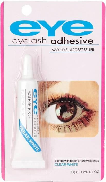 Xccess Waterproof False Eyelashes Makeup Adhesive Eye Lash Glue Clear White
