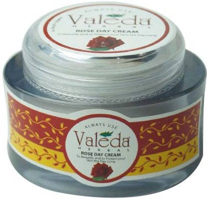 Valeda Herbal Rose Day Cream with 'Wheat Germ Oil' - To Beautify & to Protect Your Skin the Day Long