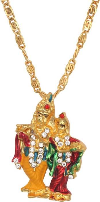 Smstraders radha krishna pendant yellow gold alloy pendant set price smstraders radha krishna pendant yellow gold alloy pendant set aloadofball Images