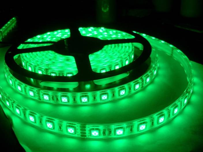 V-Light 196.85 inch Green Rice Lights