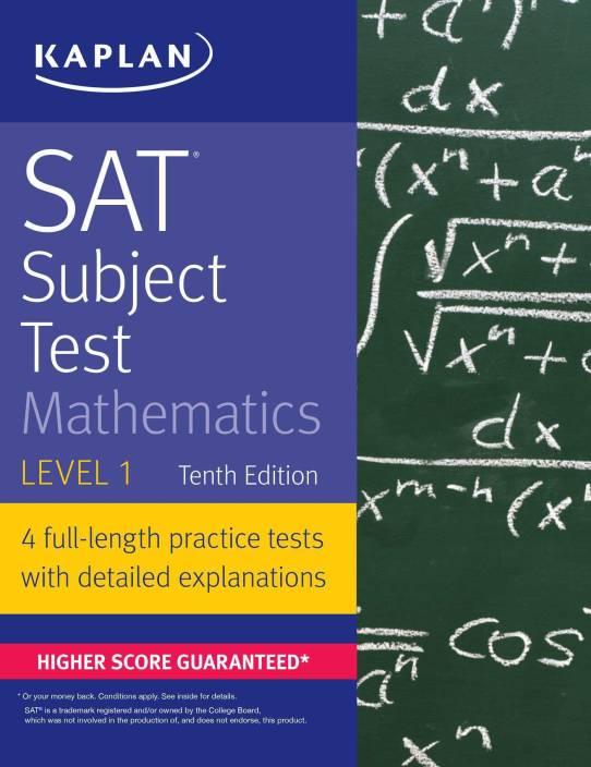 SAT Subject Test Mathematics Level 1: Buy SAT Subject Test