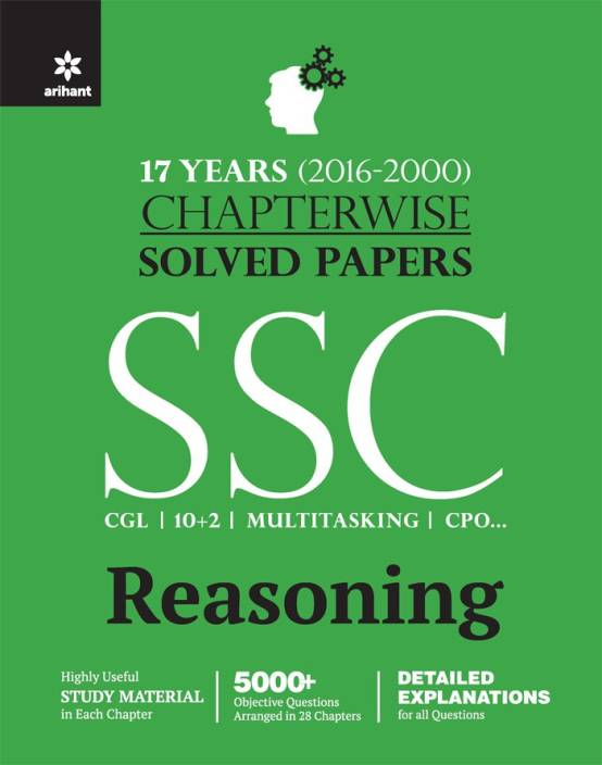 Chapterwise Solved Papers SSC Staff Selection Commission REASONING