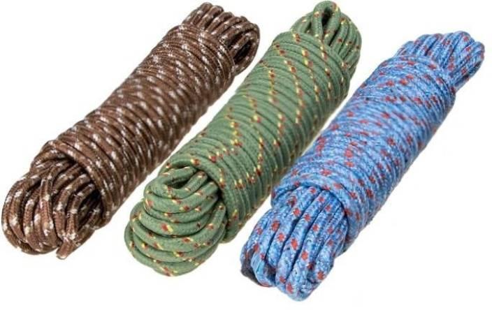 Bajrang Nylon Cloth Rope 20m 03 Pcs Nylon Plastic Cotton