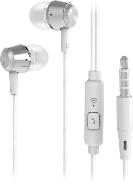 9fe9f4e56e3 Flipkart SmartBuy Wired Metal Headset With Mic Price in India - Buy ...