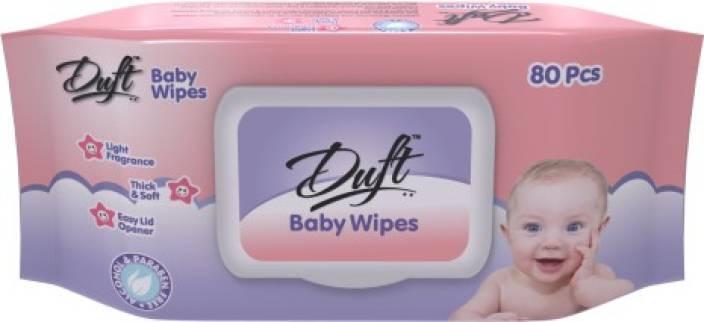 Duft Baby Wipes Aloe Vera and Vitamin E
