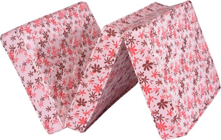 Springtek Folding Mattress 4 inch Single High Density (HD) Foam Mattress