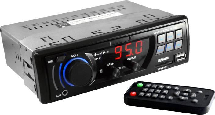 Sound Boss MP3/FM/USB/SD/AUX -SB-666 Car Stereo Price