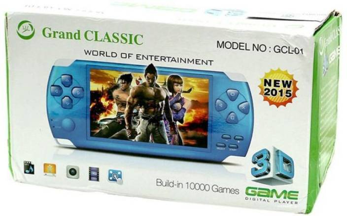 Blue Lotus Grand Classic GCL-02 PSP 4 GB with 10000 Games