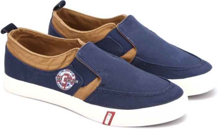 Lee Cooper Canvas Loafers