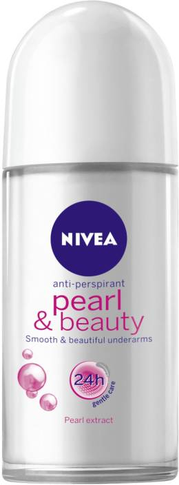 Nivea Pearl & Beauty Roll On (Pack of 1) Deodorant Roll-on - For Women  (50 ml)