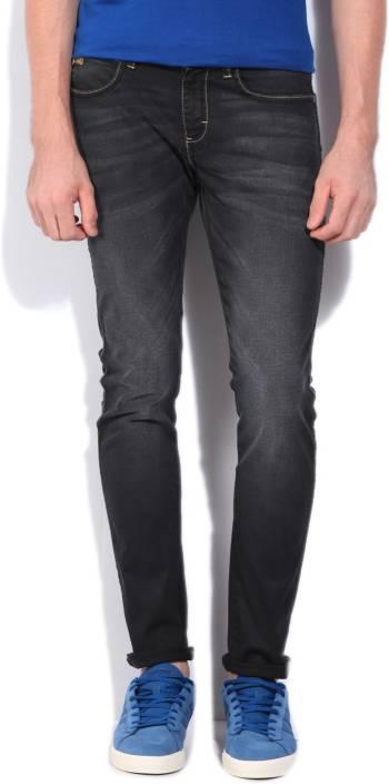 Wrangler Skinny Men's Black, Grey Jeans