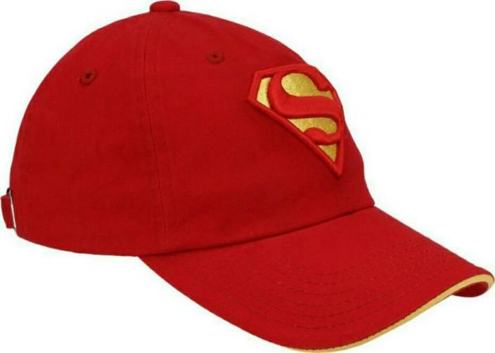 1b71ca049d8ef Friendskart Red Superman Cap Cap - Buy Friendskart Red Superman Cap Cap  Online at Best Prices in India