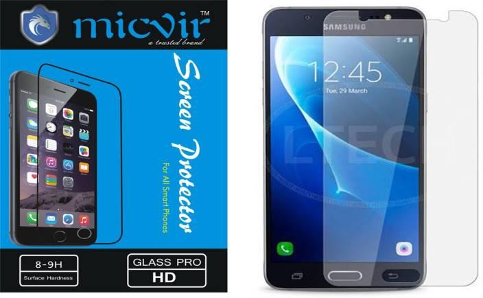 Micvir Tempered Glass Guard for Samsung Galaxy J5 - 6 (New 2016 Edition)