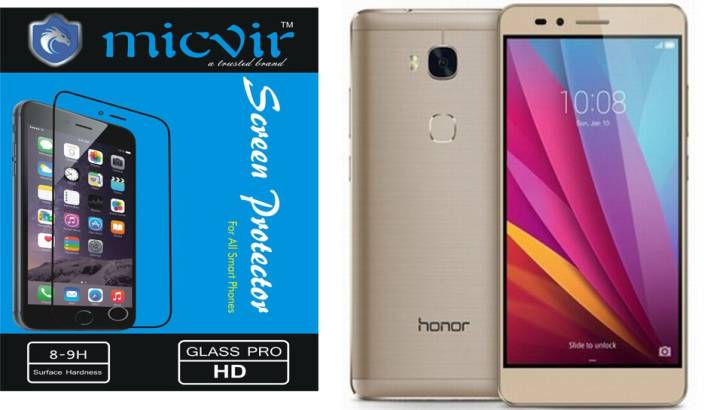 Micvir Tempered Glass Guard for Huawei Honor 5X