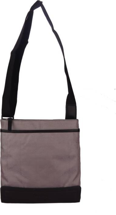 e3f25b860 Calvin Klein Men Casual Grey Polyester Sling Bag Lt Grey - Price in ...