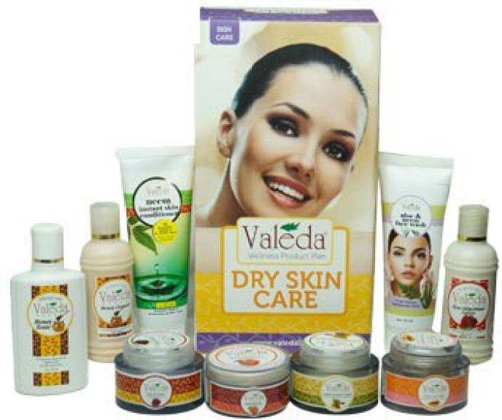 Valeda Herbal Dry Skin Treatment Kit - By Skin Specialist Doctors - Since 1988