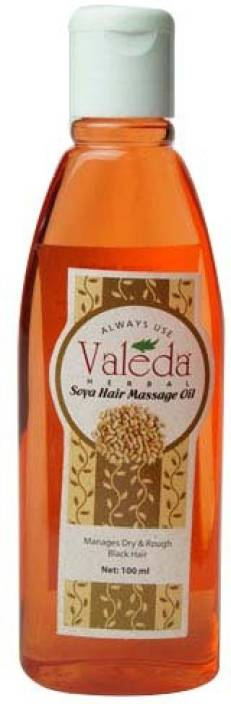 Valeda Herbal Soya Hair Massage Oil - Prevents Hairfall and Gives Natural Shine & Gloss - Made by Doctors (Since 32 Years) Hair Oil