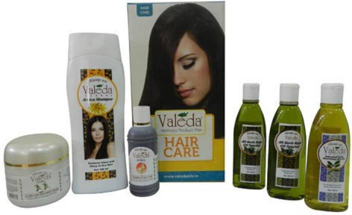 Valeda Herbal Dry Hair Treatment Kit - From The 'House of Doctors - Since 1988'